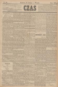 Czas. [R.38], Ner 38 (17 lutego 1885)