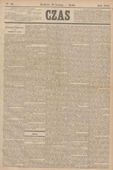 Czas. [R.38], Ner 39 (18 lutego 1885)