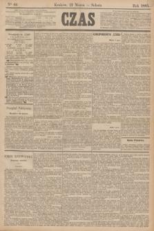 Czas. [R.38], Ner 66 (21 marca 1885)