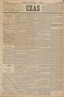 Czas. [R.38], Ner 77 (4 kwietnia 1885)