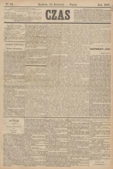 Czas. [R.38], Ner 93 (24 kwietnia 1885)