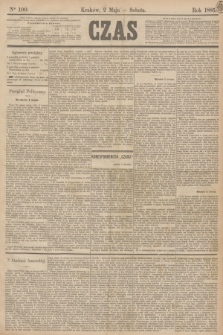 Czas. [R.38], Ner 100 (2 maja 1885)