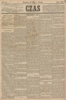 Czas. [R.38], Ner 118 (27 maja 1885)