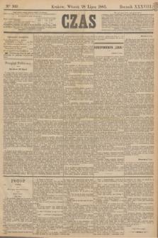 Czas. R.38, Ner 169 (28 lipca 1885)