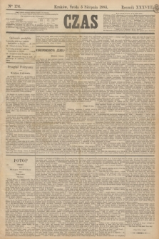 Czas. R.38, Ner 176 (5 sierpnia 1885)