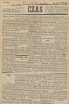 Czas. R.38, Ner 189 (21 sierpnia 1885)