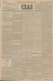 Czas. R.38, Ner 193 (26 sierpnia 1885)