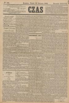 Czas. R.38, Ner 195 (28 listopada 1885)