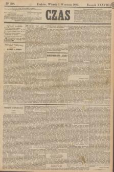 Czas. R.38, Ner 198 (1 września 1885)