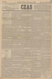 Czas. R.38, Ner 199 (2 września 1885)