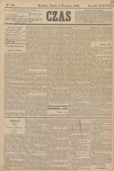 Czas. R.38, Ner 201 (4 września 1885)