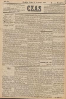 Czas. R.38, Ner 202 (5 września 1885)