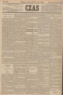 Czas. R.38, Ner 210 (16 września 1885)