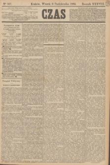Czas. R.38, Ner 227 (6 października 1885)