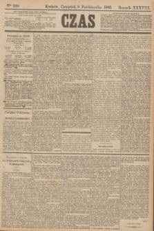 Czas. R.38, Ner 229 (8 października 1885)