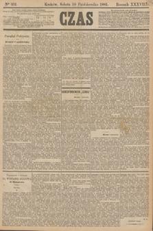 Czas. R.38, Ner 231 (10 października 1885)