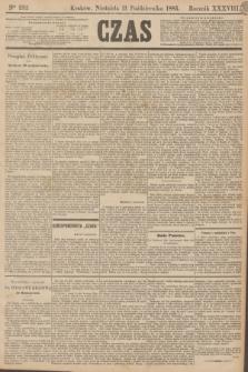 Czas. R.38, Ner 232 (11 października 1885)