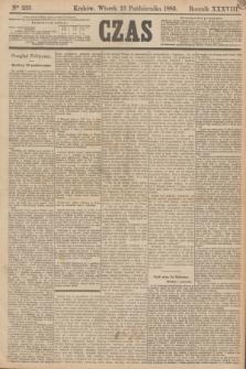 Czas. R.38, Ner 233 (13 października 1885)