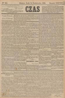 Czas. R.38, Ner 234 (14 października 1885)