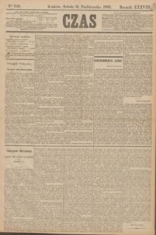 Czas. R.38, Ner 249 (31 października 1885)