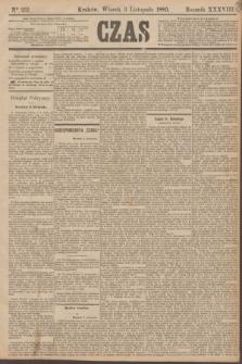 Czas. R.38, Ner 251 (3 listopada 1885)