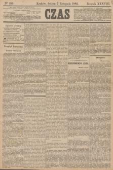 Czas. R.38, Ner 255 (7 listopada 1885)