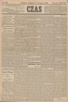 Czas. R.38, Ner 256 (8 listopada 1885)