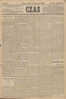 Czas. R.38, Ner 258 (11 listopada 1885)