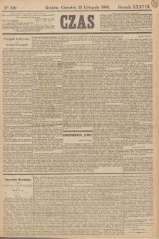 Czas. R.38, Ner 259 (12 listopada 1885)