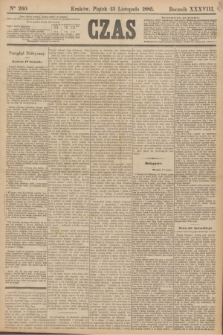 Czas. R.38, Ner 260 (13 listopada 1885)