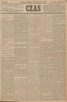 Czas. R.38, Ner 266 (20 listopada 1885)