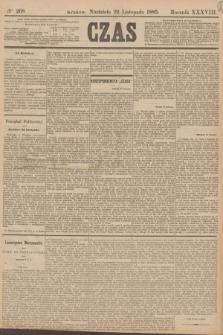 Czas. R.38, Ner 268 (22 listopada 1885)
