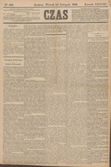 Czas. R.38, Ner 269 (24 listopada 1885)