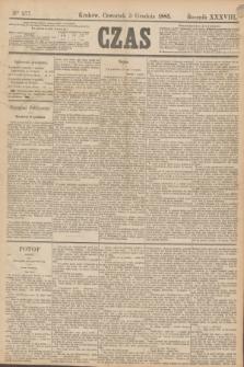 Czas. R.38, Ner 277 (3 grudnia 1885)