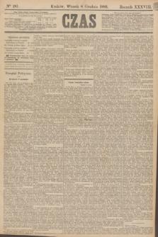 Czas. R.38, Ner 281 (8 grudnia 1885) + dod.