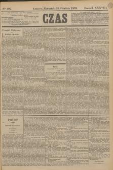 Czas. R.38, Ner 282 (10 grudnia 1885)