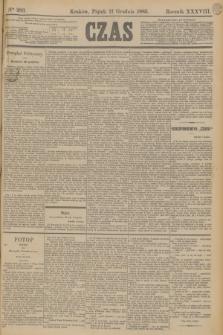 Czas. R.38, Ner 283 (11 grudnia 1885)