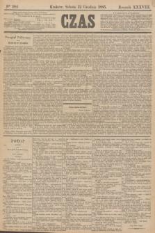 Czas. R.38, Ner 284 (12 grudnia 1885)