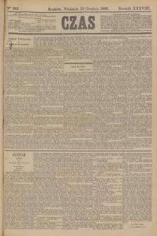 Czas. R.38, Ner 285 (13 grudnia 1885)