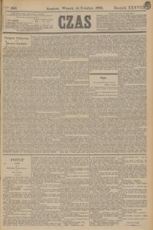 Czas. R.38, Ner 286 (15 grudnia 1885)