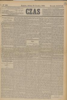 Czas. R.38, Ner 290 (19 grudnia 1885)