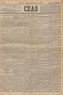 Czas. R.39, Ner 14 (19 stycznia 1886)