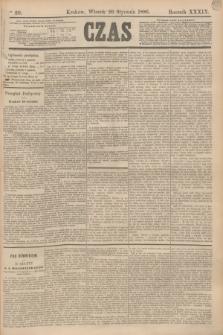 Czas. R.39, Ner 20 (26 stycznia 1886)