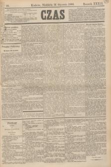 Czas. R.39, Ner 25 (31 stycznia 1886)