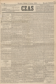 Czas. R.39, Ner 29 (6 lutego 1886)