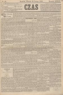 Czas. R.39, Ner 37 (16 lutego 1886)