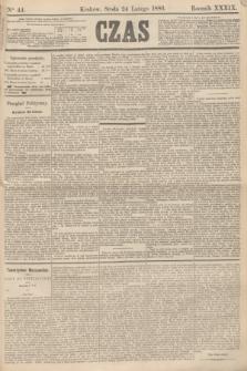 Czas. R.39, Ner 44 (24 lutego 1886)