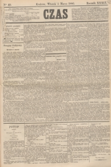 Czas. R.39, Ner 49 (2 marca 1886)