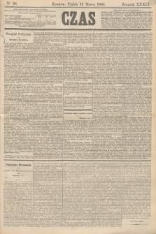 Czas. R.39, Ner 58 (12 marca 1886)