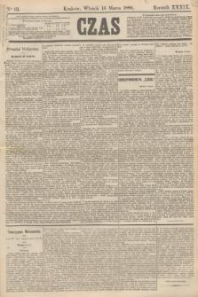 Czas. R.39, Ner 61 (16 marca 1886)
